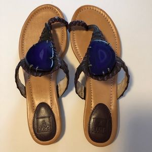 Frye MADISON AGATE Leather Sandals